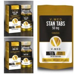 V-Med Combo 2 (Lean Bulking Stack)